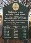 Arcade Creek Course - Haggin Oaks