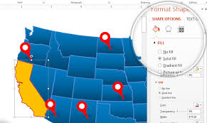 Us Map Editable In Powerpoint How To Use Our Editable Map Templates In Powerpoint Slidemodel