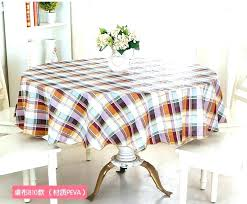 vinyl tablecloth fabric wipe clean round dining kitchen table cover protector oilcloth in tablecloths from home flannel backed b
