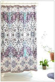 light purple shower curtains illusion teal curtain ruffle r33 shower