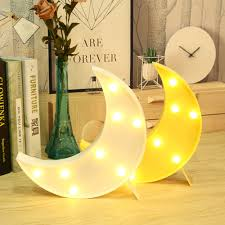 Light Up Moon Clock Us 8 24 45 Off Agm Led Night Light Moon White Yellow Wall Lamp Novelty Luminaria 3d Nightlight Marquee Up Table Lights For Kids Gift Decoration In