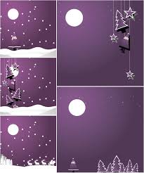 Purple Christmas Card Purple Christmas Backgrounds Vector Vector Graphics Blog