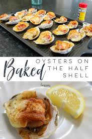 Baked Oysters On The Half Shell Recipe ...
