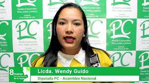 La Diputada Wendy Guido envía saludos conmemorando el dia Internacional de  la Mujer – Partido Conservador