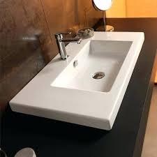 12 inch sink stylish bathroom le undermount vanity 12 inch sink