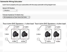 two common car amplifier power mistakes audio serious car subwoofer wiring example in this example using two subwoofers dual 4 ohm voice coils