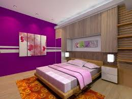 Purple Color Paint For Bedroom Bathroom Stunning And Trendy Purple Accent Wall Bedroom Purple