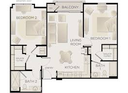 la apartments 2 bedroom. plan c la apartments 2 bedroom b