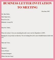 Business Letter Invitation To An Event. Invitation Sample For Event ...