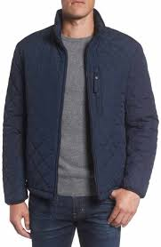 Men's Quilted, Puffer & Down Jackets | Nordstrom & Marc New York Faux Shearling Lined Quilted Jacket Adamdwight.com