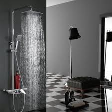 Pst At Zeitgen Ssisch Chrom Duschset Duschsystem Eckig