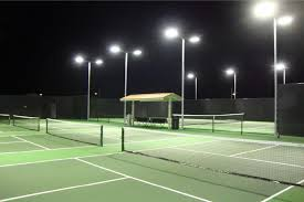 brite court tennis lighting led for indoor u0026amp outdoor inspiration of outdoor led lighting 068