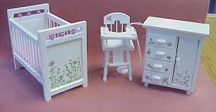 hand painted furnitureDollhouse Hand Painted Furniture in 1 Scale from FINGERTIP