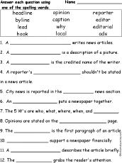 As an author of one study summed up the matter, people are more willing to share an article than read it. on the other hand, what we do is share content that gets people riled up. Make A Classroom Newspaper Enchantedlearning Com