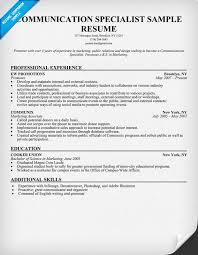 Digital Communications Resume Sample Resume Communications