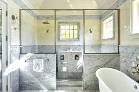 pony wall bathroom pony wall shower master shower for two half wall shower pictures bathroom knee