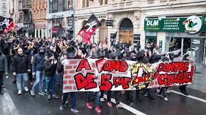 Generation Far News For Closure Call Of Protesters France In Jazeera Identity Al Bar Right