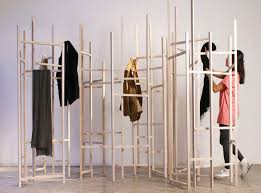 Coming And Going Coat Rack Jack Craig's Skeletal Coat Rack Turns Into A Room Divider As Clothes 83