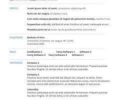 Resume Expert Preferred Resume Templates Resume Genius Cvfolio