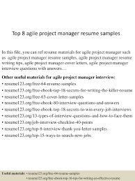 Scrum Master Resume Sample Top10000agileprojectmanagerresumesamples10000lva100app6100009100thumbnail100jpgcb=100100310051000010061000010000 37
