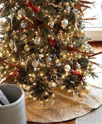 Red And White Swirl Christmas Tree Skirt  Tree Skirts And Christmas Tree Skirt Clearance