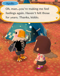 Apollo animal crossing Eagle Animal Crossing Pocket Camp Taught Me About Friendship Oh Man Feeling Feelings Pomegranate Magazine 10 Things Animal Crossing Pocket Camp Taught Me About Friendship