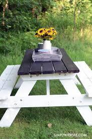 diy outdoor farmhouse table. 10 DIY Outdoor Farmhouse Tables Diy Table E