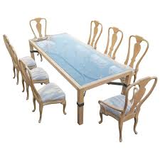 queen anne dining room table. phyllis morris queen anne dining set large table and eight chairs 1 room