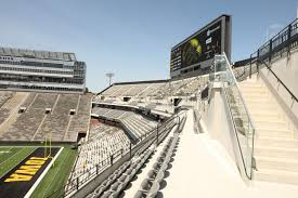 Kinnick Edge Seating Chart Photos First Look At Kinnick Stadiums North End Zone