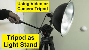 Manfrotto Light Stand Holder Camera Tripod As Light Stand