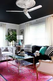 A New Living Room Rug Stripes For The Win  A Thoughtful PlaceBlack Living Room Rugs