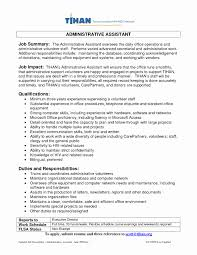 Resume Summary Examples For Administrative Assistants Resume Career Summary Examples New How To Write A Qualifications 8