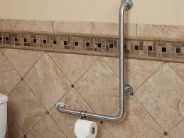 contemporary bathroom handrails pattern bathroom with bathtub