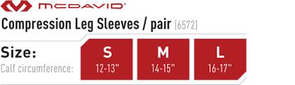 Mcdavid Compression Leg Sleeves 6572r