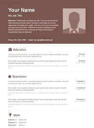 Cv Template Free Download Professional Cv Templates Free Download Word Document Wonderful