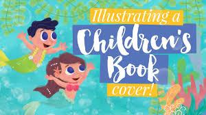 ilrating a children s book cover bilangan sa karagatan ilration timelapse