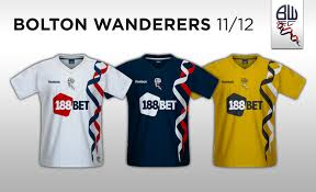 Image result for bolton wanderers kits through the years
