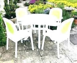 plastic patio table round round resin patio table resin patio table round resin patio table with