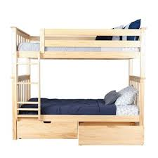 Mack & Milo Absecon Twin over Twin Bunk Bed with Under Bed Storage ...