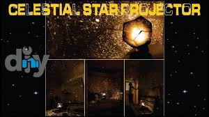 diy fantastic celestial star projector lamp night light