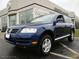 2005 Shadow Blue Metallic Volkswagen Touareg V6 #27449083 ...