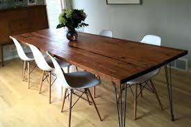 refurbish dining table refurbished wood room tables tag cost to refinish and chairs