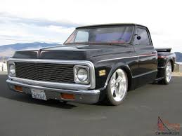 69 70 CHEVY C10 STEPSIDE PICKUP TRUCK CHOPPED BAGGED 20S BEAUTIFUL ...