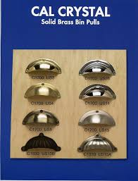 Solid Brass Chrome Cabinet Pulls