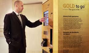 Gold Bullion Vending Machine Beauteous Gold Bullion Vending Machinesign Of A Gold Bubble Stormfront