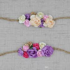 Paper Flower Headbands Paper Flower Headbands Barca Fontanacountryinn Com