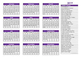 Jewish Holiday Chart 2019 Christian Calendar Christian Religious Festival