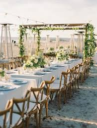 wedding reception table settings. Outdoor Wedding Reception Table Setting Idea Via Bryan Miller Photography Settings E