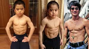 this buff anese 10 year old boy s