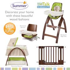 summer infant bentwood collection featured on the talk giveaway with regard to bwood high chair